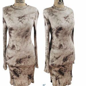 Tye Dye Fitted Dress